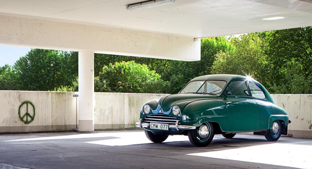 Bilhistoria: Saab 92A 1950