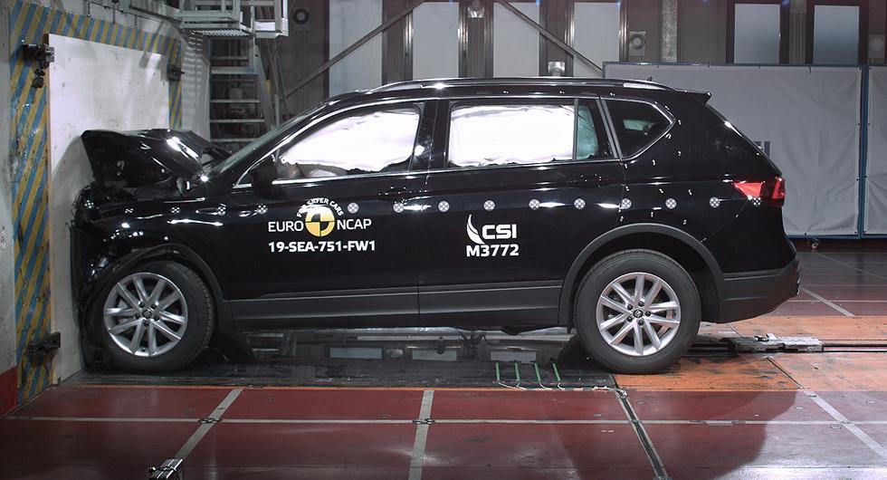 Full pott i krocksäkerhet för CR-V, G-klass och Tarraco