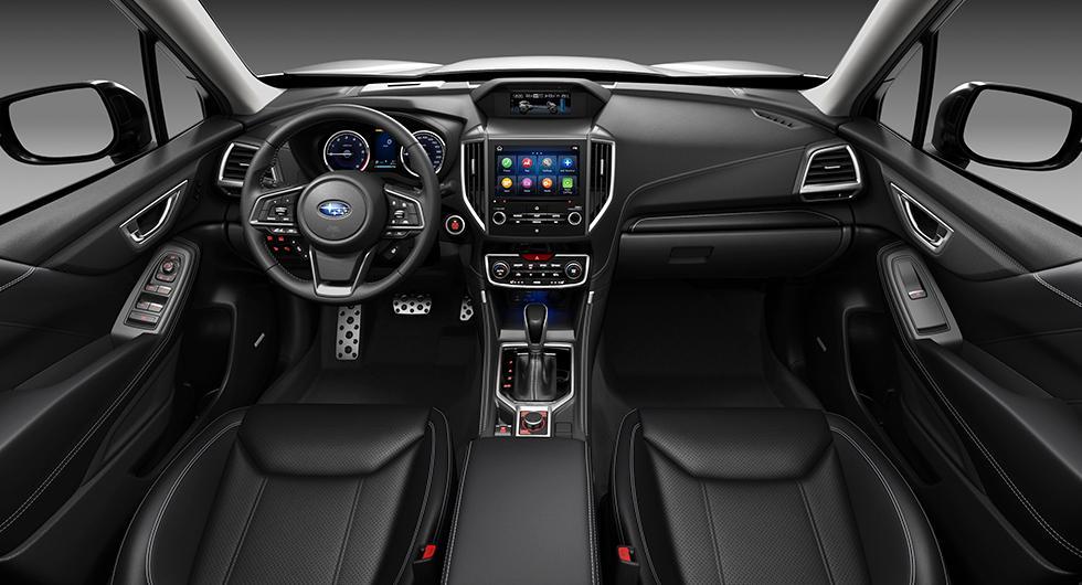Subaru Forester blir hybrid