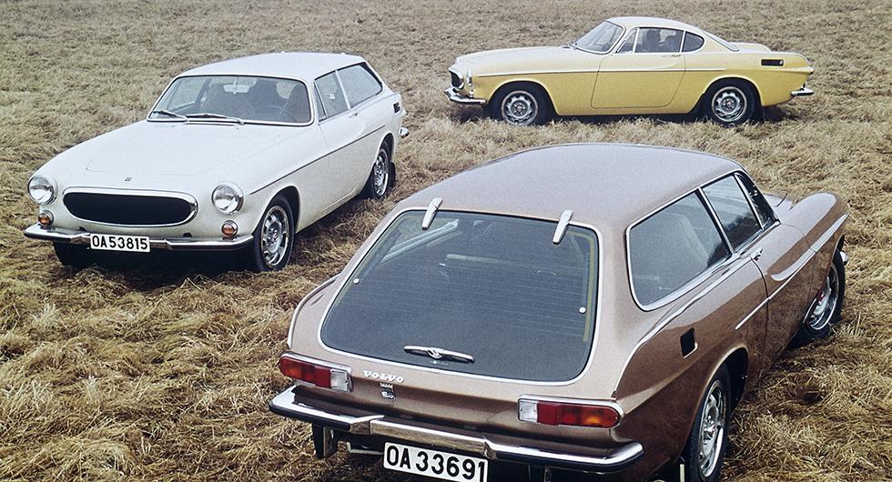 Rekordförsök med Volvobilar