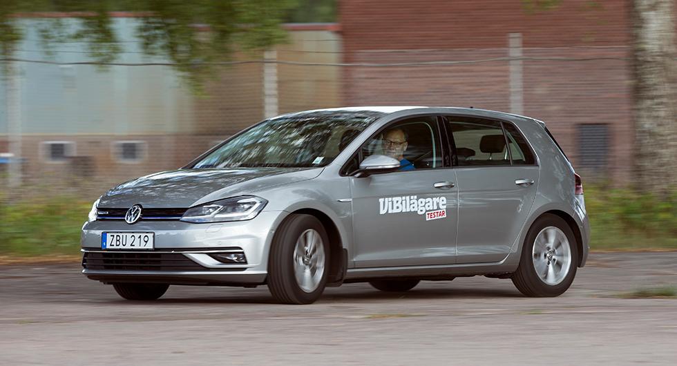 Volkswagen Golf vanligaste nybil i februari