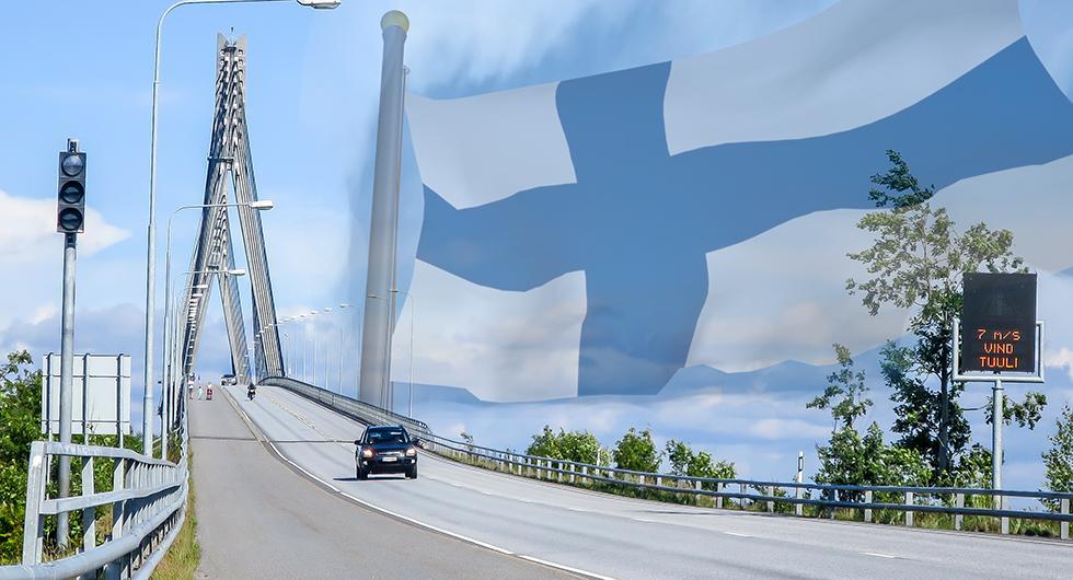Svenska bilar utvandrar till Finland
