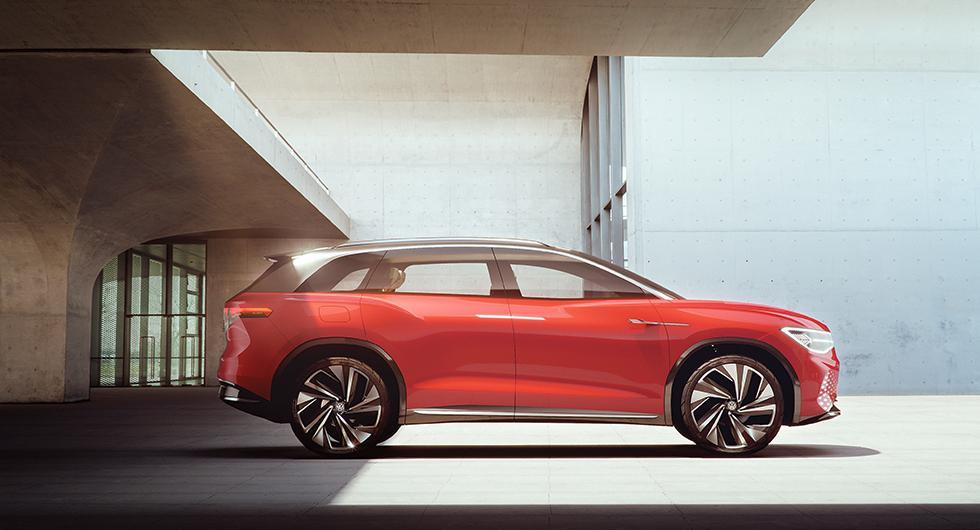Volkswagen Roomzz utmanar Tesla Model X