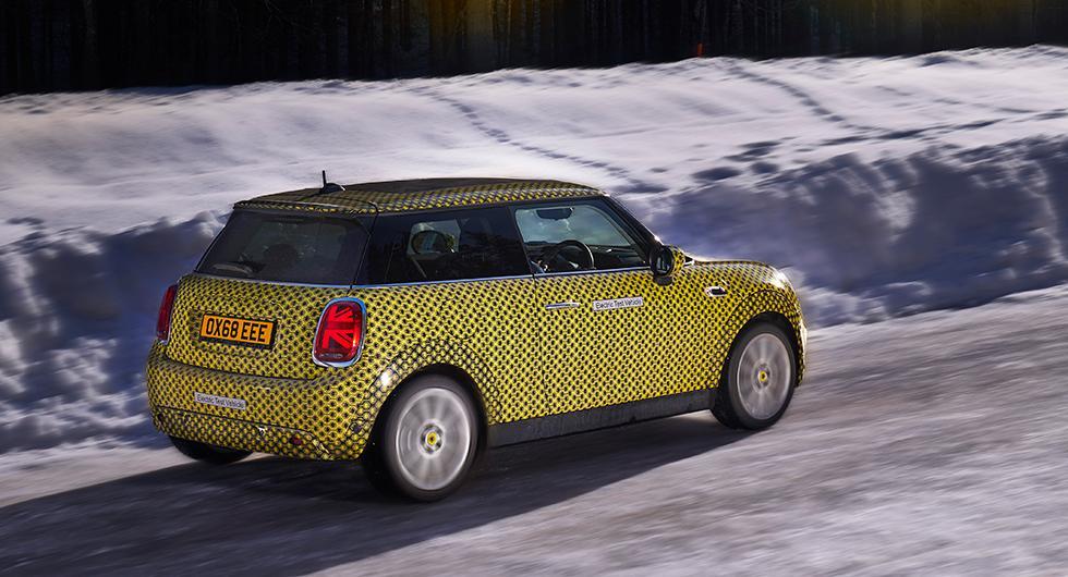 Nu går det att boka Minis elbil