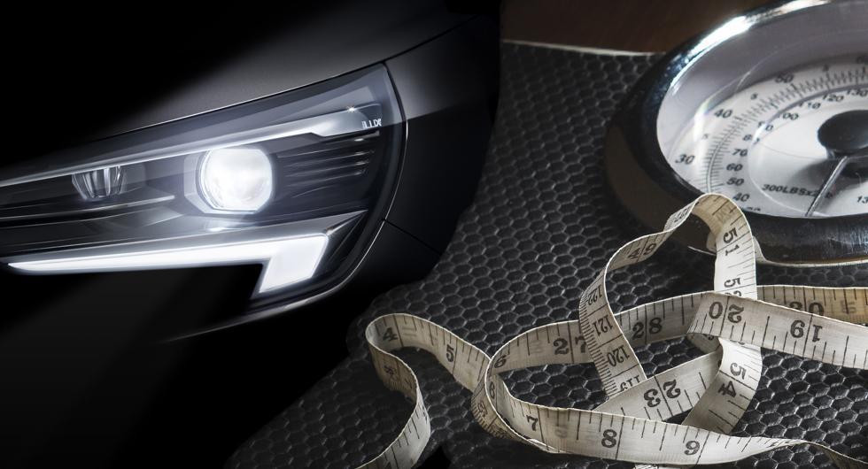 Opel Corsa på bantningskur