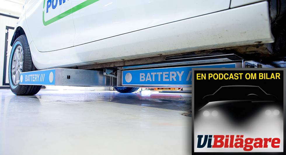 Batteribytare och blivande taxifavorit