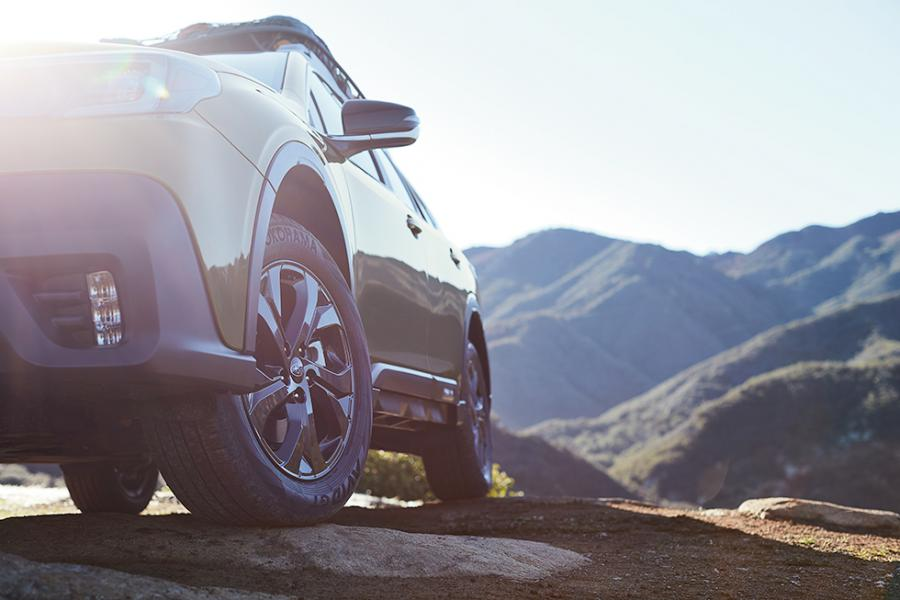 Nya Subaru Outback visas nästa vecka