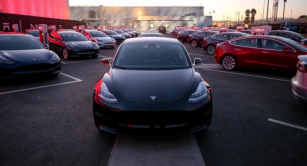 Tesla Model 3 blev femte mest nyregistrerade bil under mars 2019.
