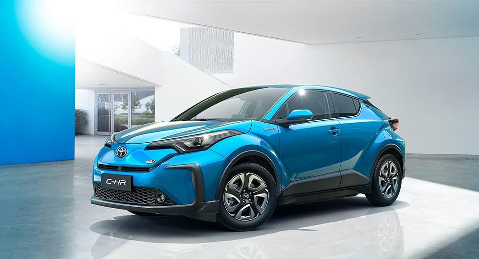 Toyota C-HR blir elbil