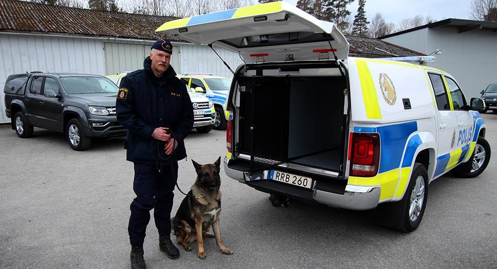 Här är polishundarnas nya bil