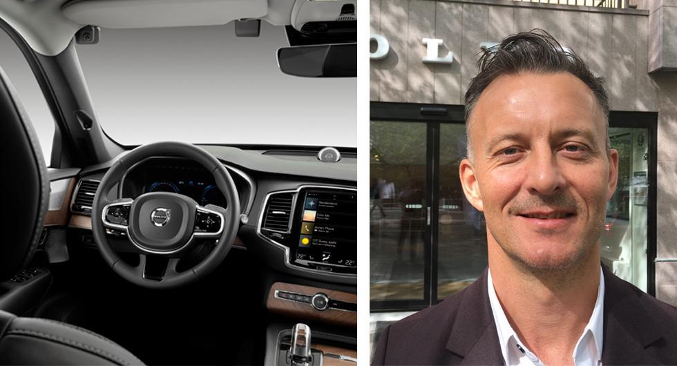 Därför satsar Volvo på förarkameror