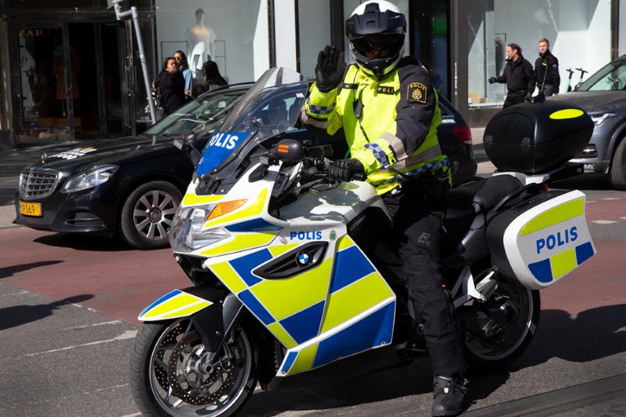 Fler mc-poliser i Stockholm