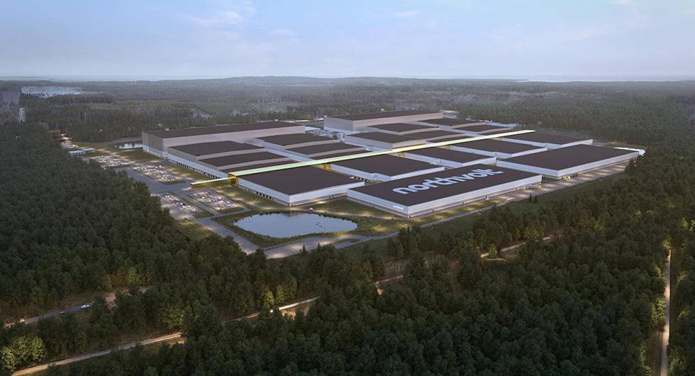 Northvolt Ett är namnet på batterifabriken i Skellefteå. Till hösten börjar den byggas.
