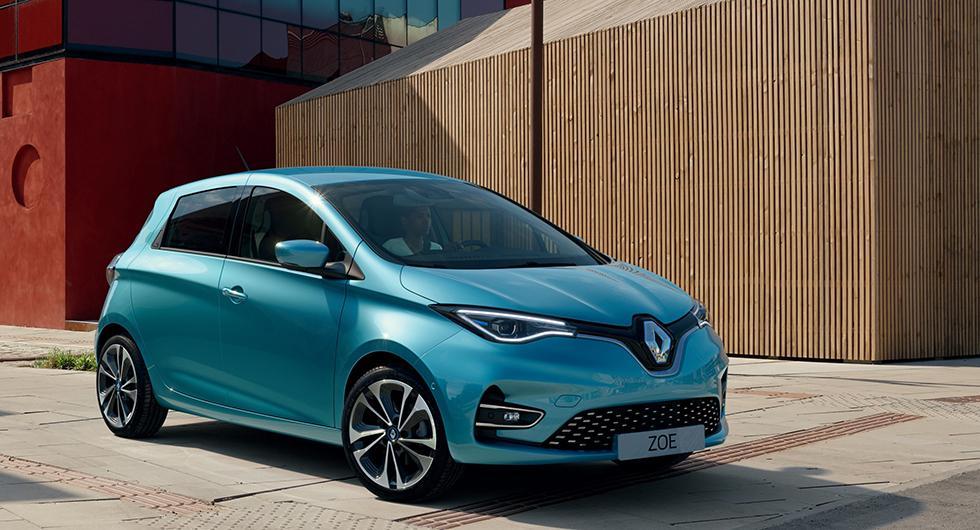Nya Renault Zoe kan snabbladdas