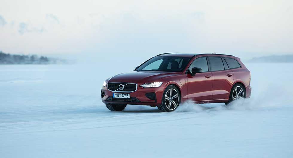 Provkörning: Volvo V60 T8 Twin Engine (2019)