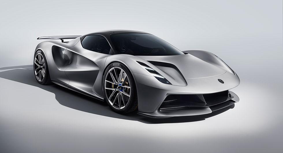 Lotus presenterar den sportiga elbilen Evija