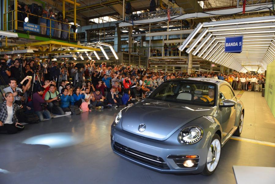 VW har byggt sin sista bubbla