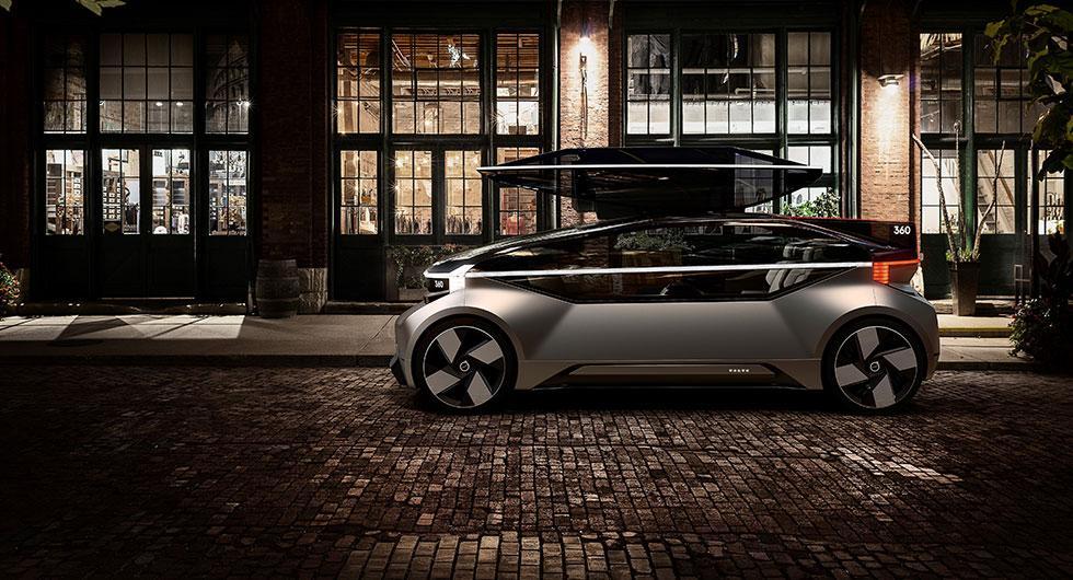 360c är Volvos självkörande framtidsvision