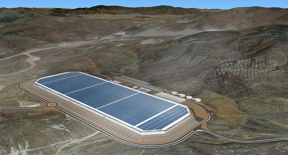 Tesla Gigafactory ligger i Nevada.