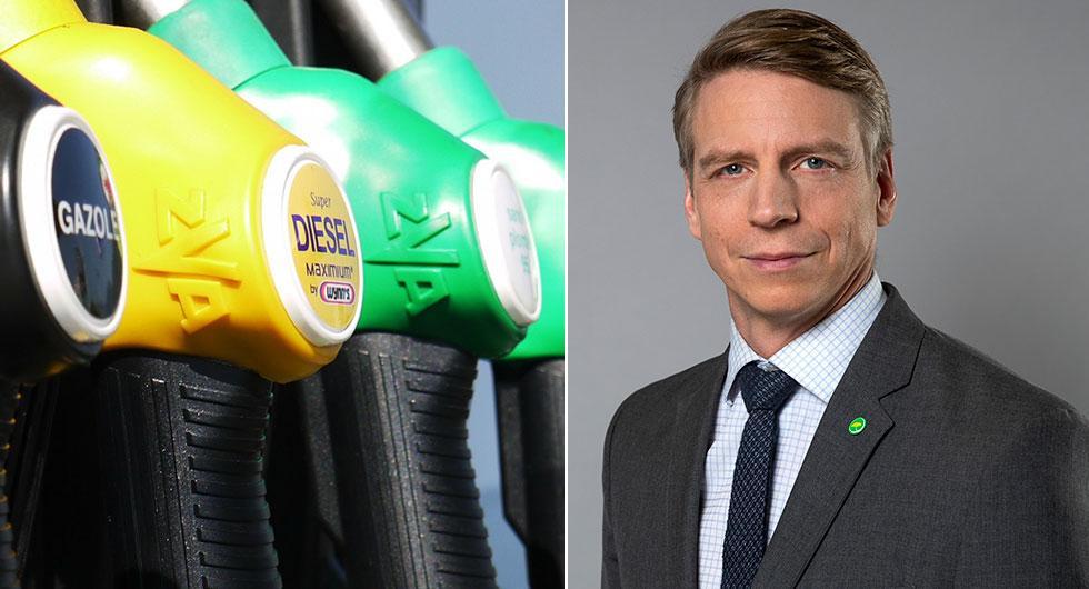 Miljöpartiets mål: 100 procent förnybart bränsle till 2030