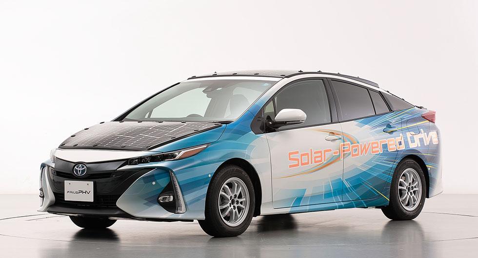 Solceller ska få bilen att gå 56 kilometer om dagen