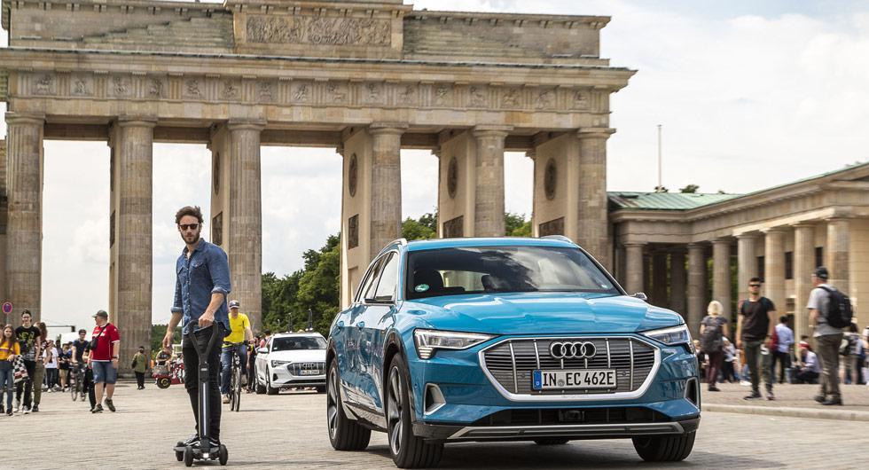 Audi lanserar elscooter