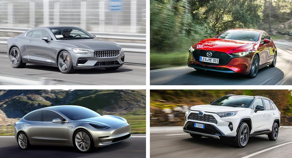 De här har chans att bli Årets Bil 2020