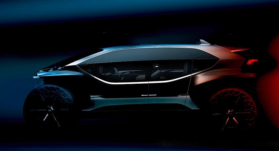 Audi planerar elektrisk terrängkörare