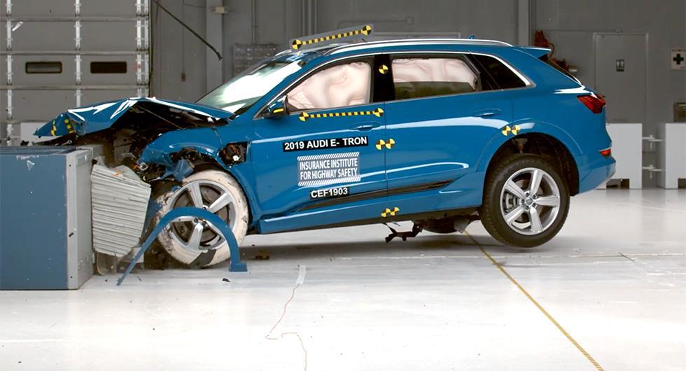 Audi e-tron får toppbetyg i krocktest