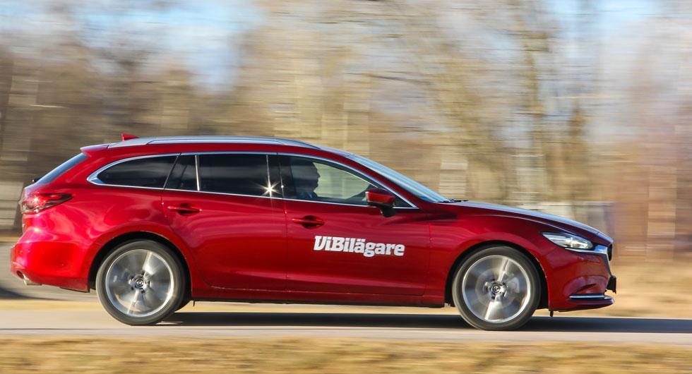 Mazda 6 i kombiutförande ger både utrymme, körkänsla och trygghet.