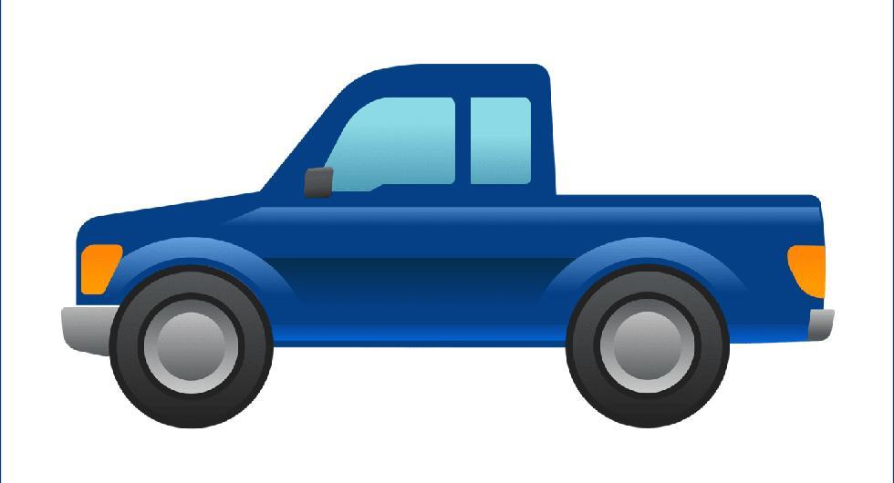 Ford vill införa en pickup-emoji