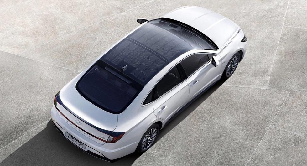 Hyundais solceller ska ge längre räckvidd