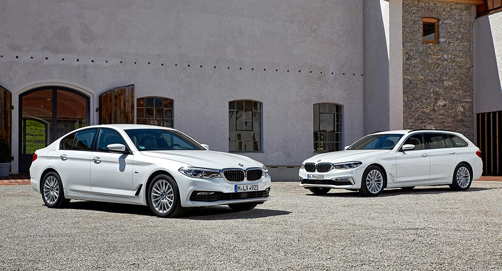 BMW 5-serie blir mildhybrid