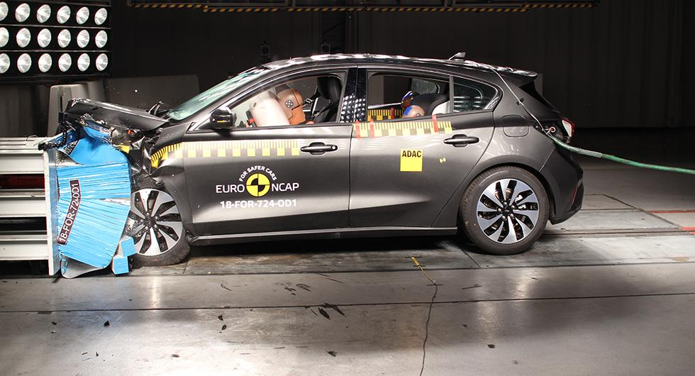 Ford Focus omtestad i EuroNCAP