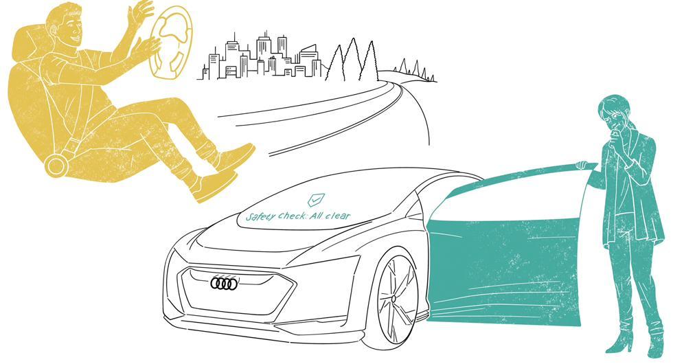 Varannan vill prova självkörande bilar