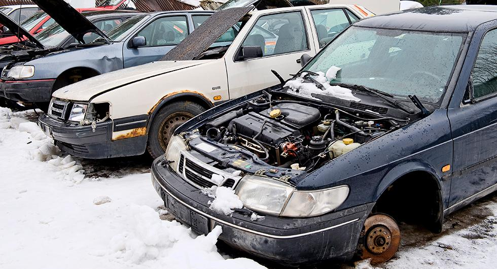 Bilfrågan: Uppgifter om skrotade bilar?