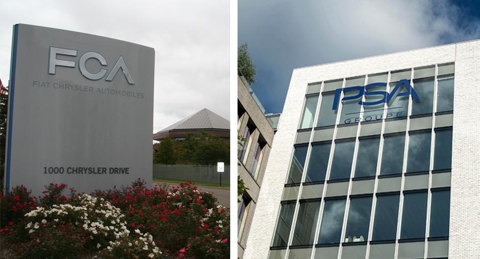 Fiat Chrysler pratar sammanslagning med Peugeot Citroën