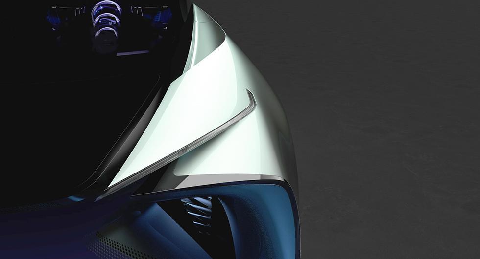 Lexus visar elbils-idé i Tokyo