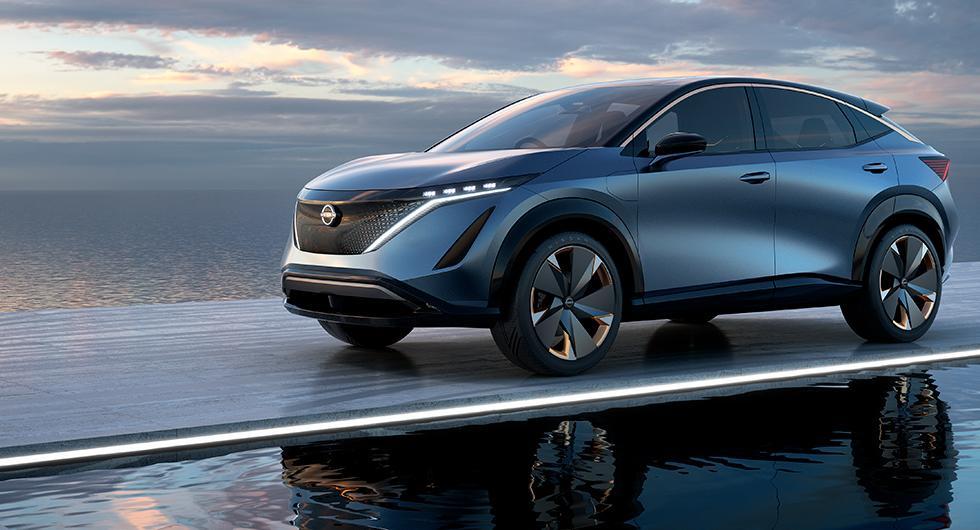 Ariya kan bli nästa elbil från Nissan
