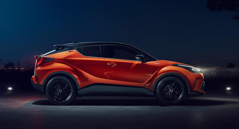 Toyota C-HR får starkare motor