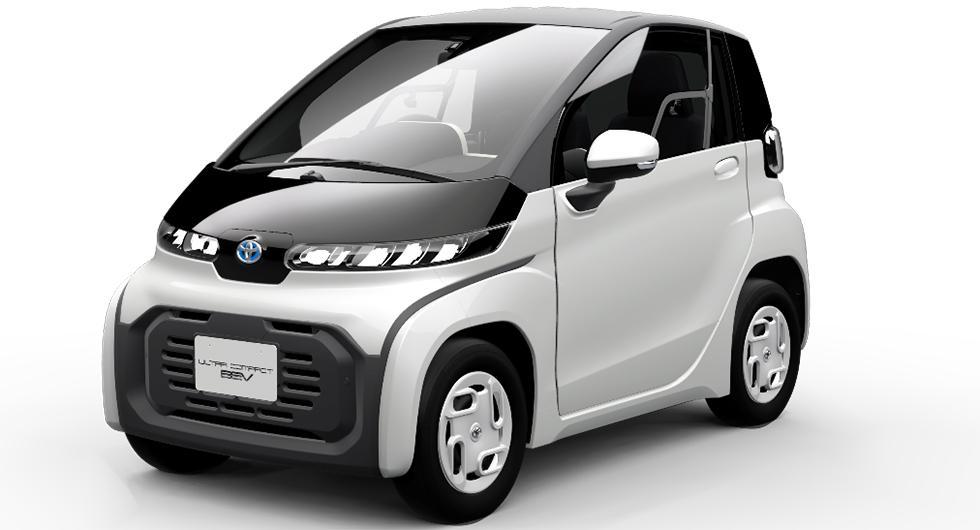 Toyotas kompakta elbil släpps 2020