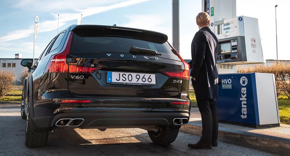 Bilfrågan: CO2-utsläpp med HVO?