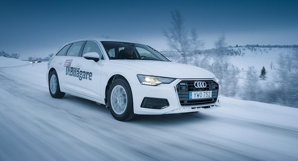 Audi A6 är en av de bilar som får högsta betyg.