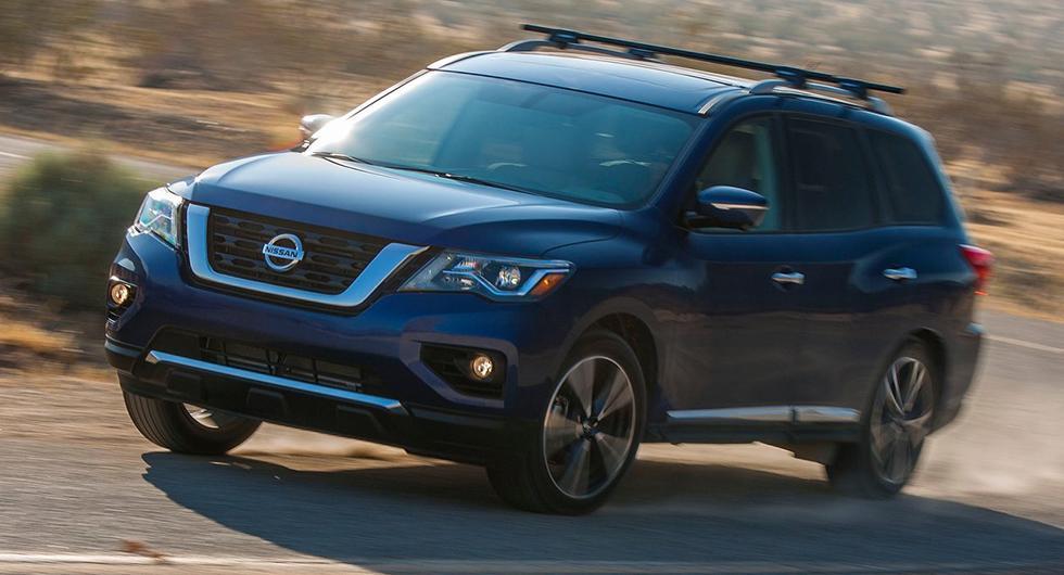 Nissan Pathfinder 2017-2019…