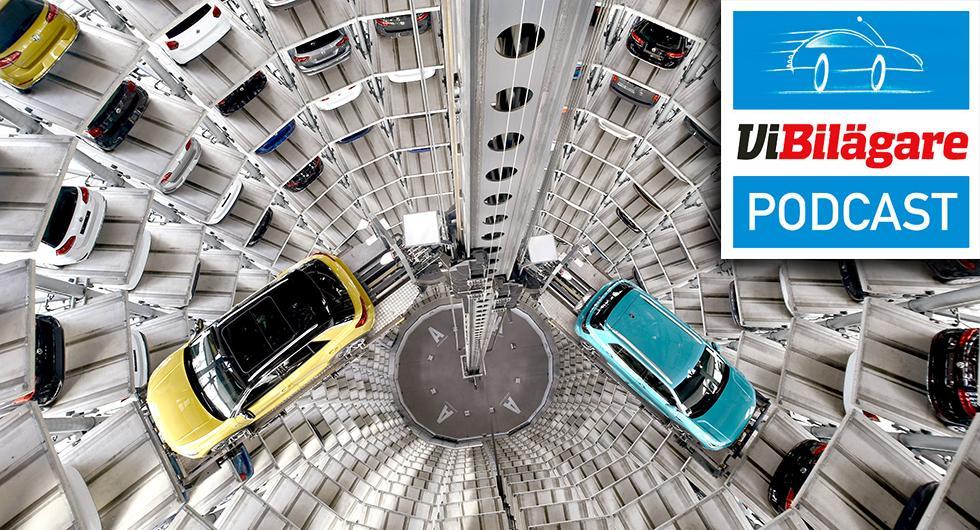 High-tech-parkering, Capturtest och megaskärm