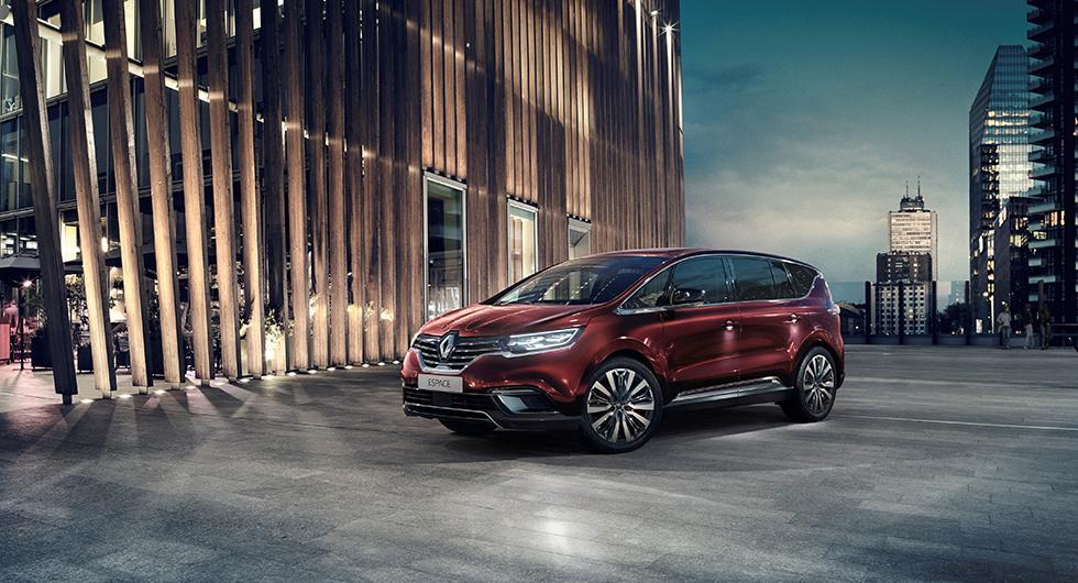 Renault uppdaterar Espace