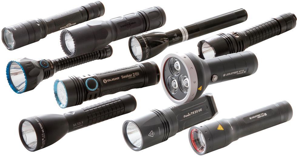 Test: 10 ficklampor med LED