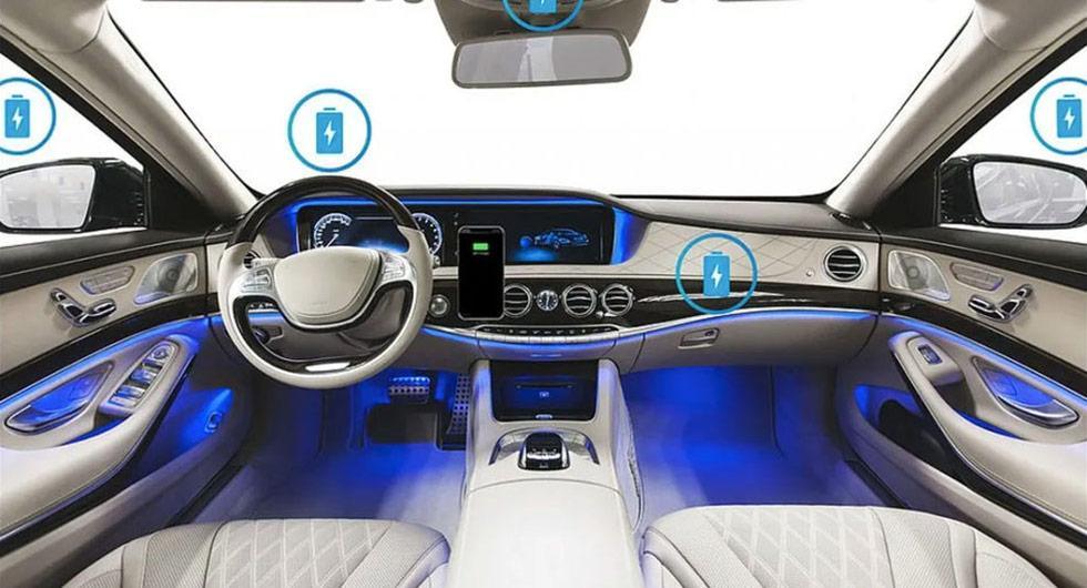 Trådlös laddning i hela bilen kan bli verklighet