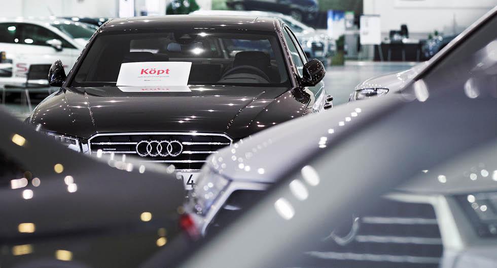 Högtryck på begagnatmarknaden – nu höjs priserna i bilhallen