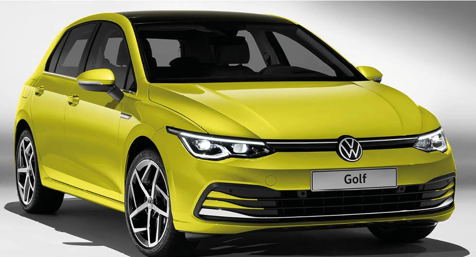 Svenska priser på nya Volkswagen Golf